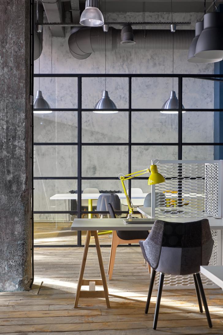 Офис в стиле лофт по проекту Алексея Толкачева (фото 15)