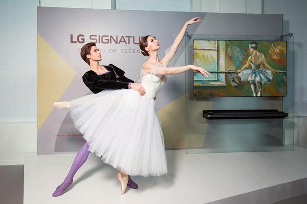 Открытие «Российской недели искусства LG SIGNATURE в ММОМА» (фото 0)