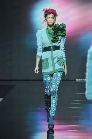 Показ Blugirl коллекции сезона Осень-зима 2009-2010 года prêt-à-porter - www.elle.ru - Подиум - фото 94331