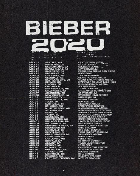Грандиозные планы: Джастин Бибер анонсировал мировой тур в 2020 году (и еще много всего интересного) (фото 3)