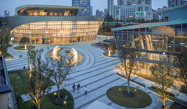Танцевальный комплекс в Шанхае фото [1]