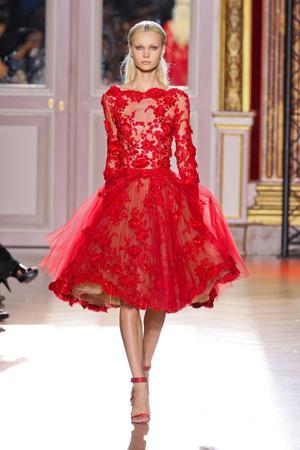 Показ Zuhair Murad коллекции сезона Осень-зима 2012-2013 года haute couture - www.elle.ru - Подиум - фото 404994