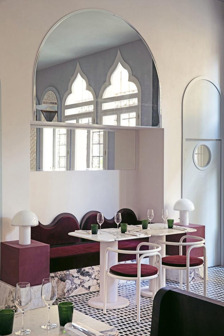 Ресторан Adriatica по дизайну Доротеи Мейлихзон в Венеции (фото 4)