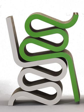 Культовый объект: Wiggle Side Chair Фрэнка Гери (фото 10.1)