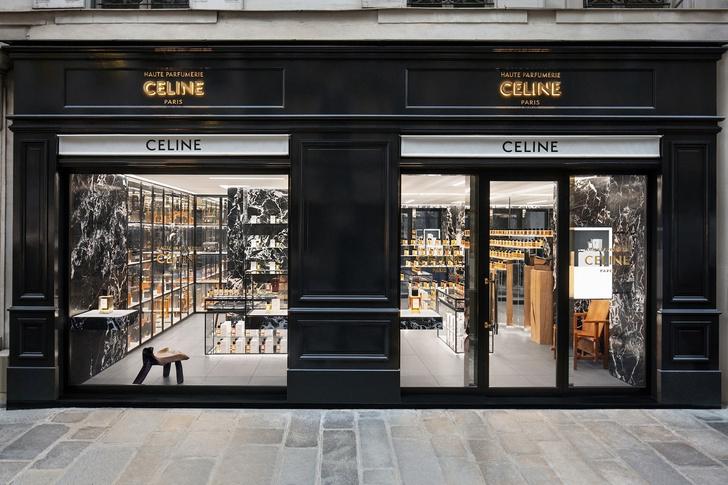 Парфюмерный бутик Celine в Париже (фото 11)