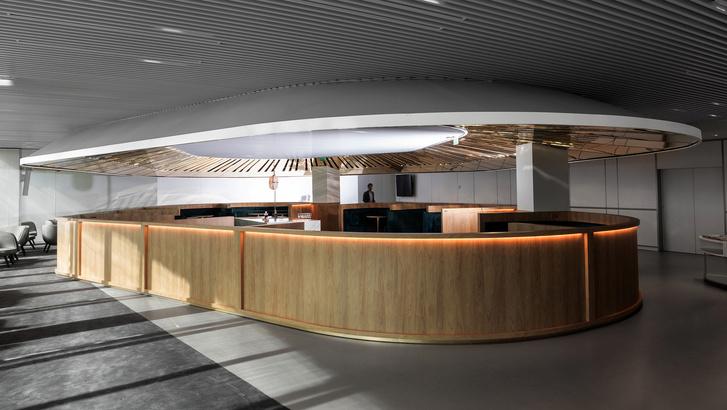 Бизнес-лаундж по проекту Матье Леаннера в Шарль-де-Голле (фото 10)