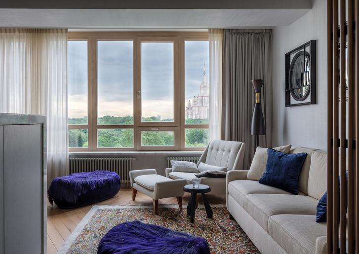 Квартира 120 м² с видом на МГУ (фото 2)