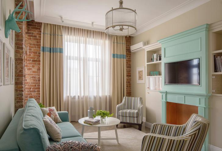 Современная квартира 67 м² в довоенном доме (фото 0)