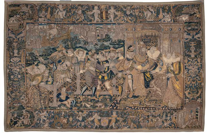 Шпалеры XVI-XVII веков на выставке в Москве (фото 2)
