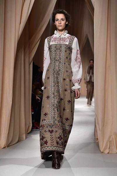 Показ Valentino Haute Couture   галерея [1] фото [11]