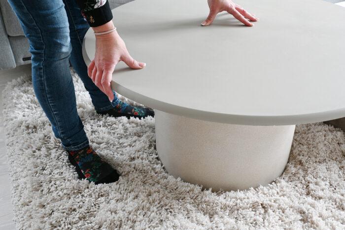 Мастер-класс: стильный столик из цветочного горшка (галерея 4, фото 2)