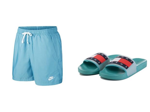 Самое летнее сочетание: шорты + слайдеры (фото 4)