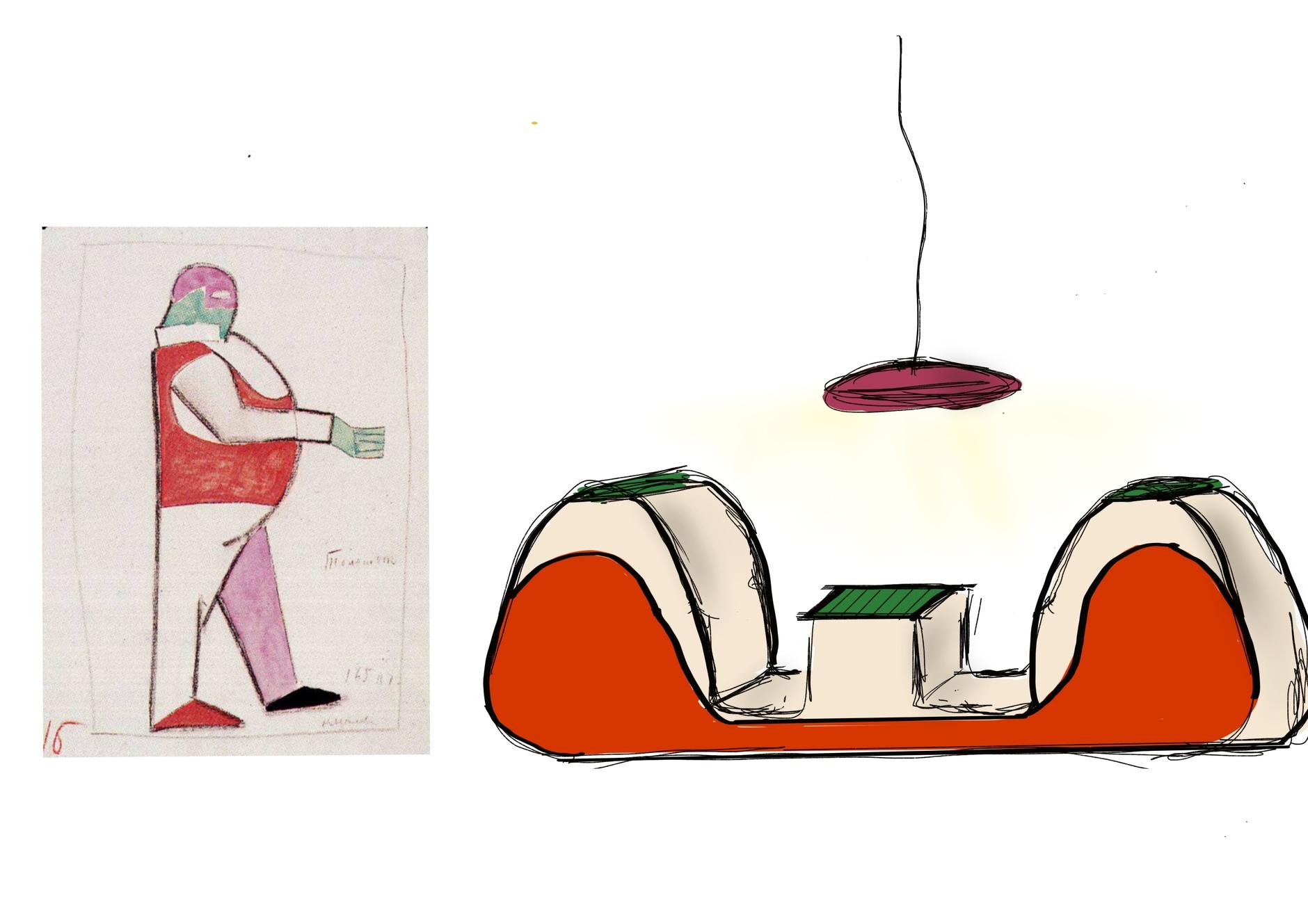 Стулья Анны Титовой по эскизам Казимира Малевича (галерея 6, фото 0)