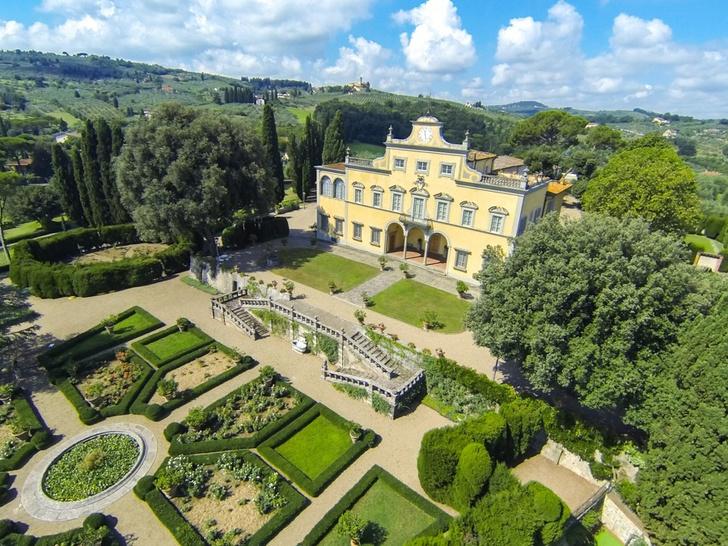 Вилла Антинори принадлежала семье тосканских виноделов, к которой принадлежала и знаменитая Мона Лиза