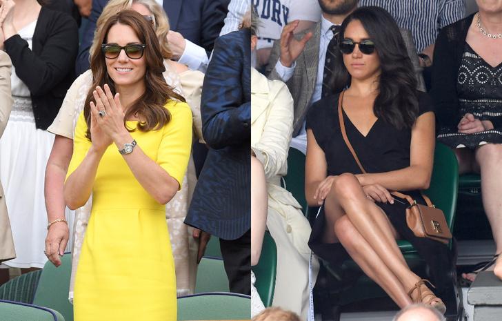 Кейт Миддлтон VS Меган Маркл: любимые женщины британских принцев фото [6]