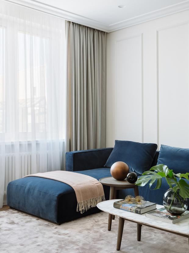 Балтийская неоклассика: квартира в Санкт-Петербурге 98 м² (фото 3)