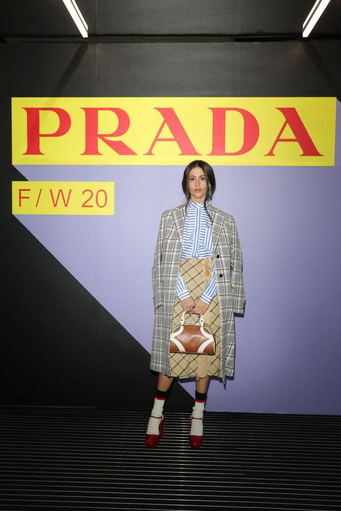 Барбара Палвин, Джильда Амбросио, Кьяра Ферраньи и другие гости показа Prada Menswear Fashion Week (фото 4)