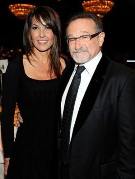 Робин Уилльямс с женой