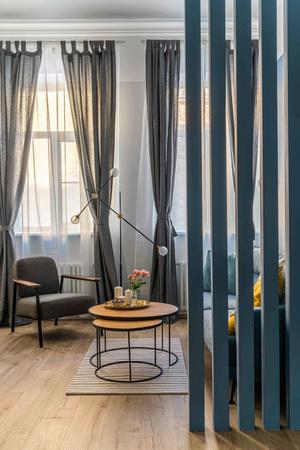 Скандинавская квартира в Петербурге 96 м² (фото 1)