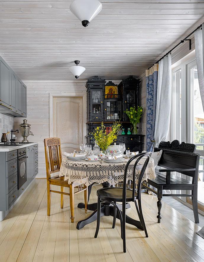 интерьер загородного дома проект ирины лаврентьевой Elle Decoration