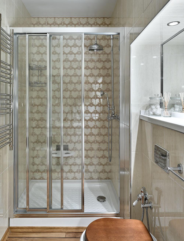 Маленькая ванная комната: 20 интерьеров (галерея 0, фото 2)