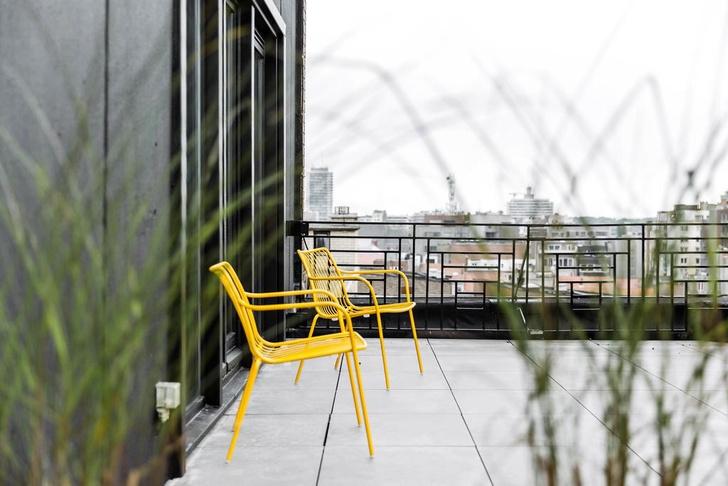 Брутальный отель в Брюгге, вдохновленный стилем Нью-Йорка (фото 10)