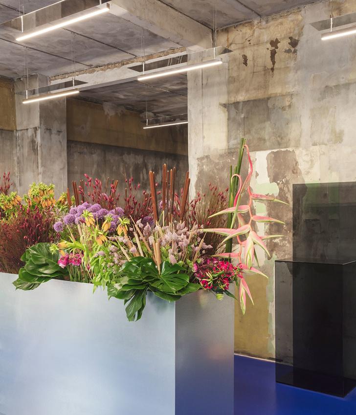 Цветочный магазин в Копенгагене (фото 2)