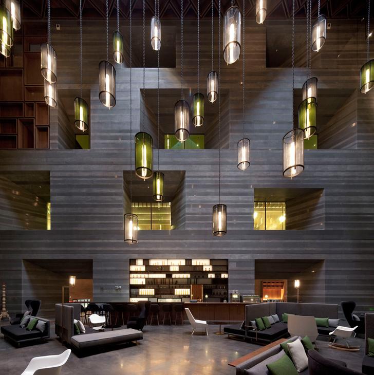 Отель Le Meridien, Чжэнчжоу, проект студии Neri & Hu.