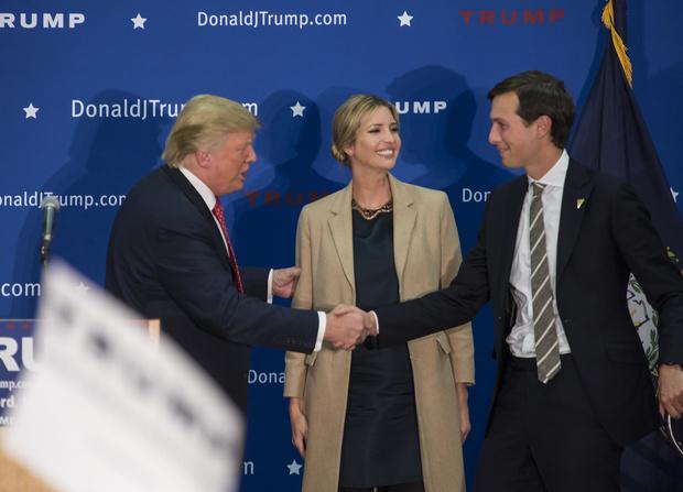 Дональд Трамп увольняет Иванку и Джареда Кушнера (фото 1)
