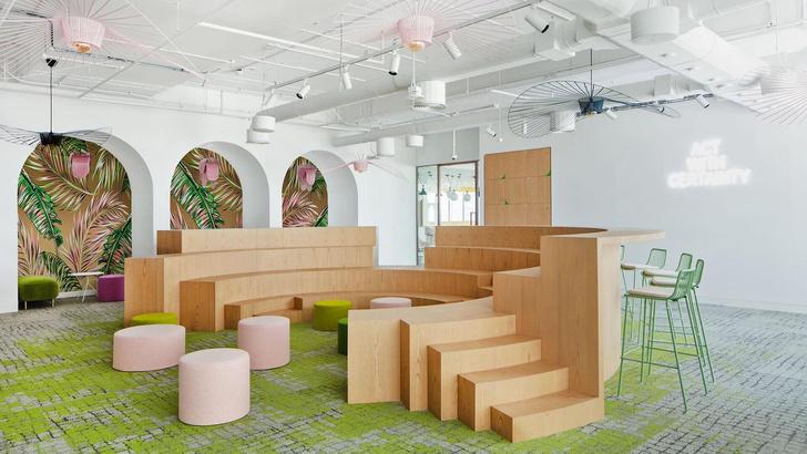 Эклектичный офис в Дубае (фото 0)