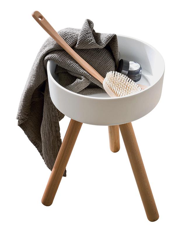 Столик-табурет для ванной