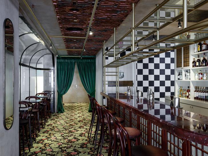 Ресторан Buro в ЦУМе: проект NB Studio (фото 11)