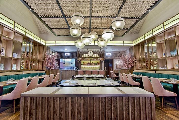 Сакура, мрамор и ротанг: новый ресторан азиатской кухни Shan Shui (фото 1)