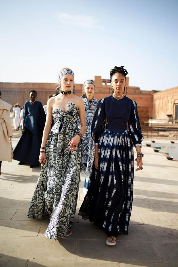 ELLE инсайдер: что происходило на бэкстейдже показа Dior Cruise 2020 (фото 0)