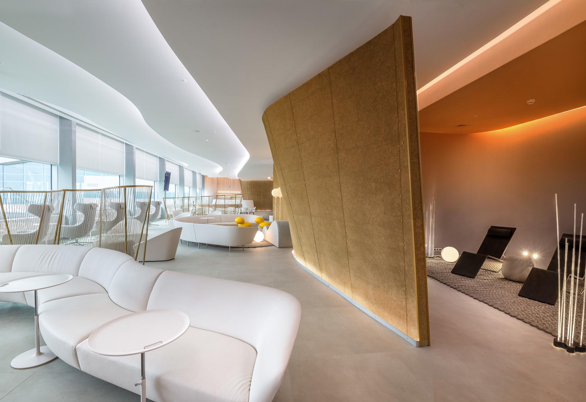 Бизнес-лаунж аэропорта «Платов» в Ростове-на-Дону: проект VOX Architects (галерея 9, фото 4)