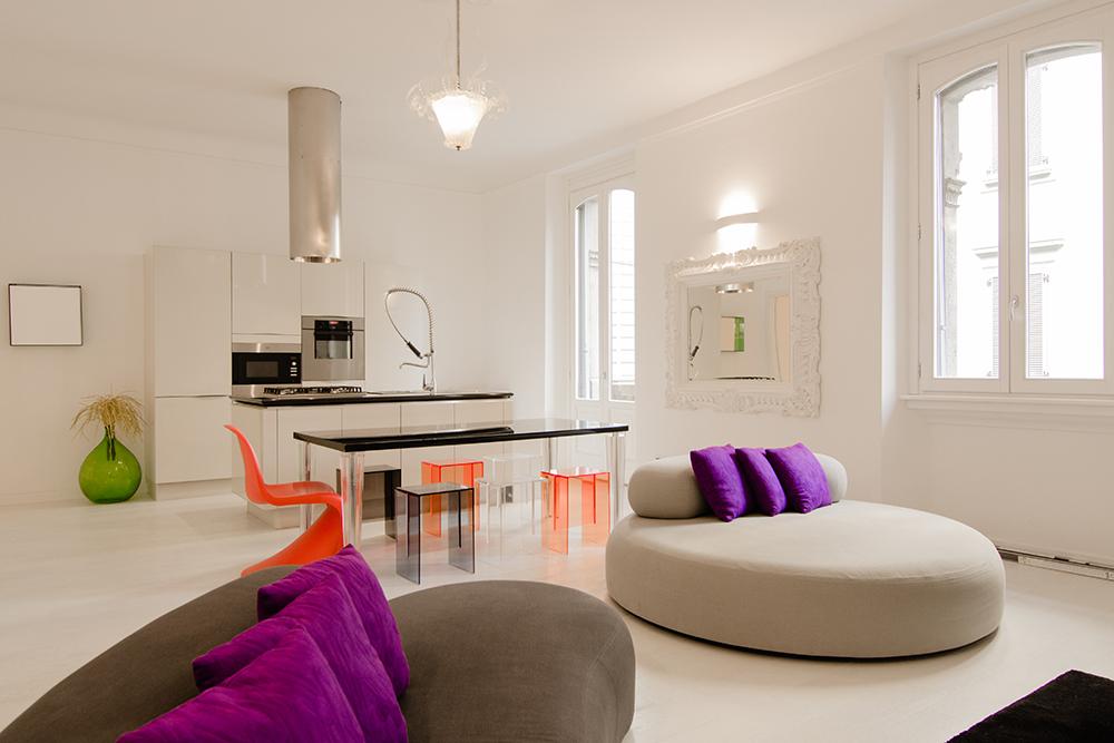 Топ-10: дизайнерские квартиры в Милане | галерея [5] фото [5]