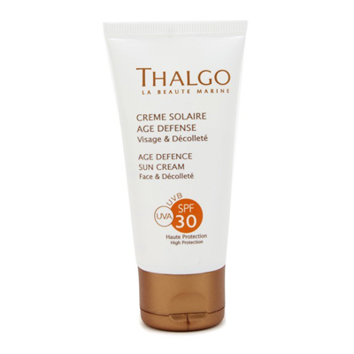 THALGO SPF30 Age Defence Sun Cream SPF 30