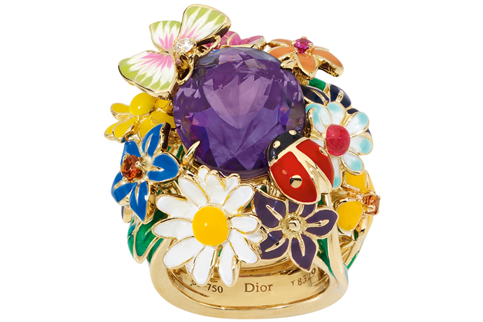 Кольцо Diorette