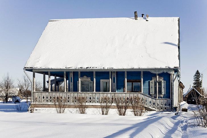 Русский дом в деревне Петрушево