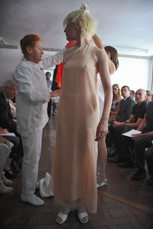 Показ Adeline Andre коллекции сезона Осень-зима 2009-2010 года Haute couture - www.elle.ru - Подиум - фото 87054