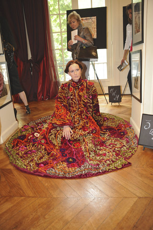 Показ Franc Sorbier коллекции сезона Осень-зима 2009-2010 года haute couture - www.elle.ru - Подиум - фото 87606