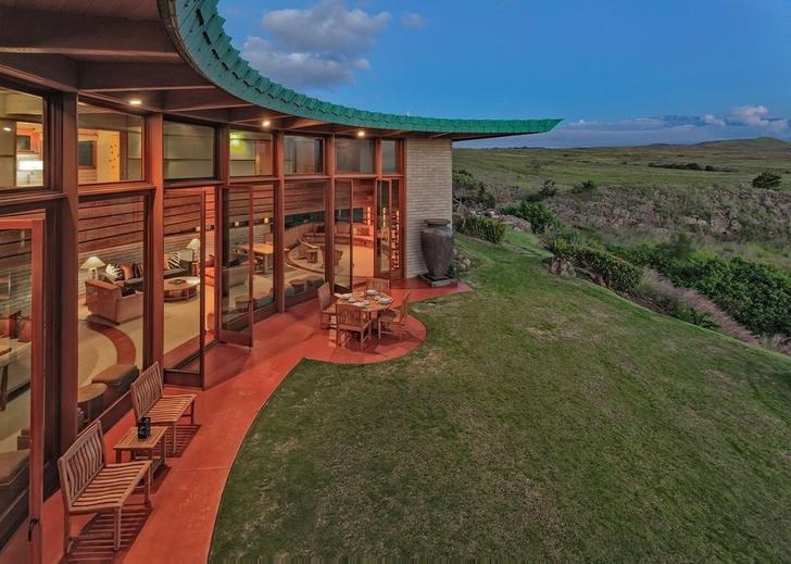 Дом по проекту Фрэнка Ллойда Райта на Гавайях (фото 14)