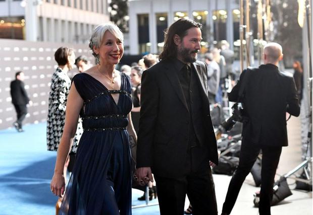 Леди Х: с кем Киану Ривз пришел на светскую голливудскую вечеринку? (фото 2)