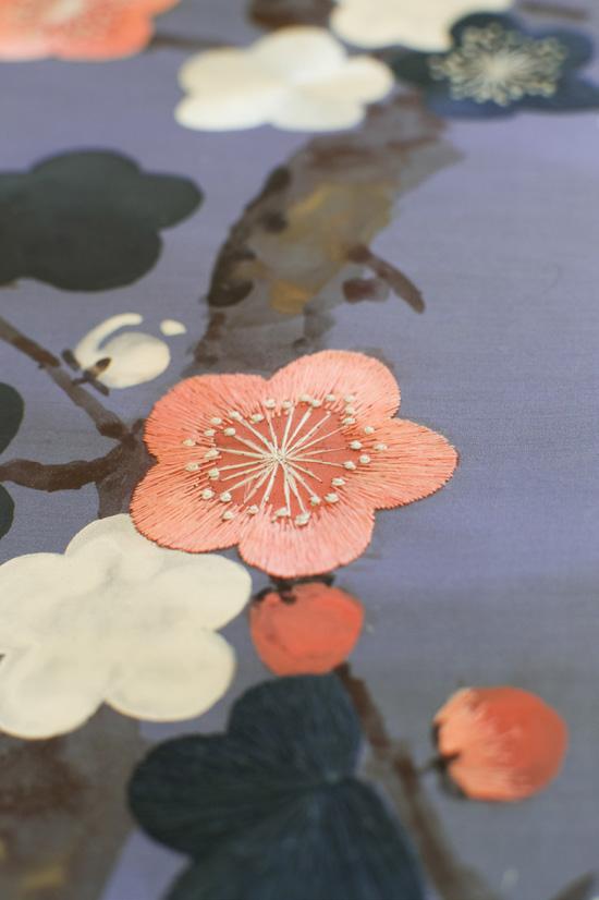 Компания de Gournay выпустила обои с вышивкой | галерея [1] фото [3]