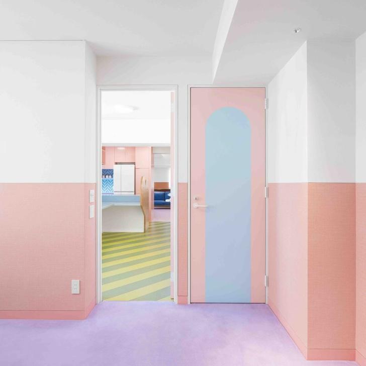 Все цвета радуги: квартира 160 м² в Токио (фото 9)
