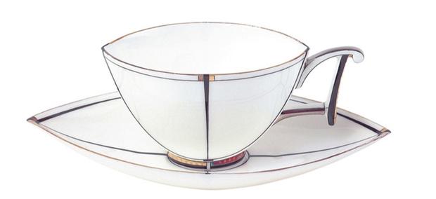 Чашка с блюдцем «Ковчег», Императорский фарфоровый завод, фирменные магазины «Императорский фарфор».
