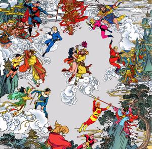 Супергерои в китайский пейзажах: выставка Джеки Цая (фото 4.1)