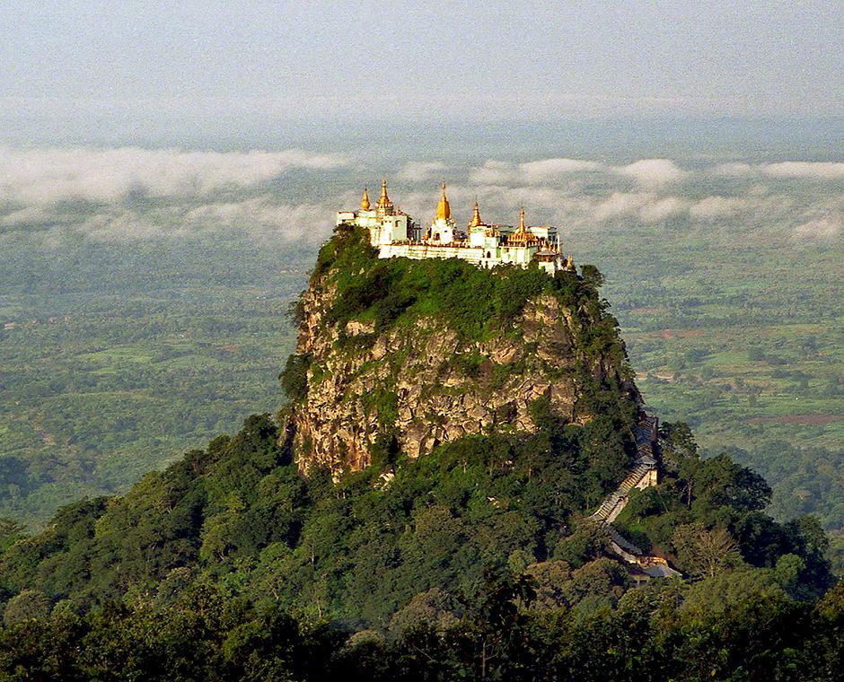 Таунг-Калат, Бирма