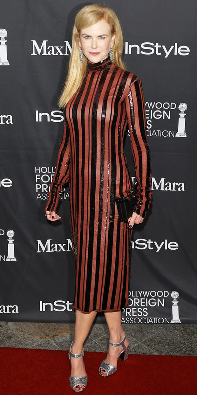 В платье Nina Ricci, 2016 год