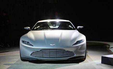 Новый Aston Martin Джеймса Бонда 2